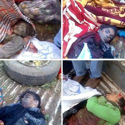 #Syria #Homs - Regime shells refugee hot spot and kills 11 children at minimum